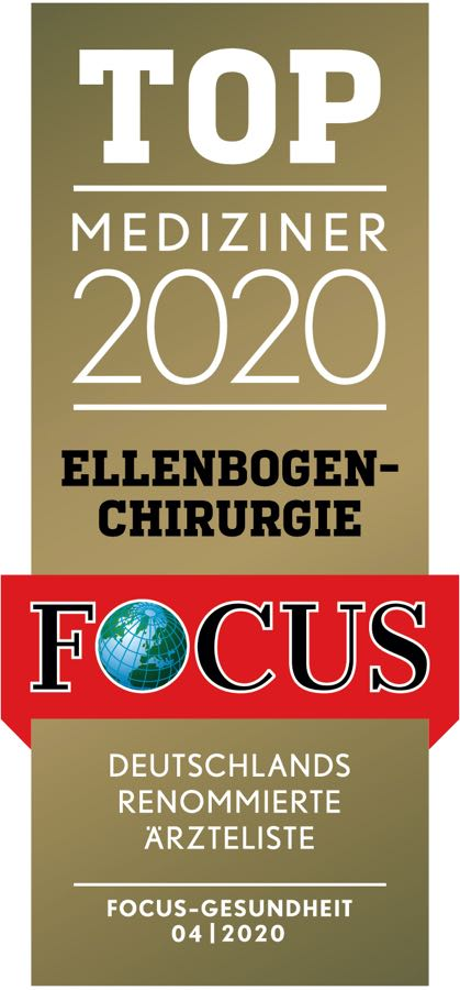 FOCUS-Siegel TOP_Mediziner_2020_Ellenbogenchirurgie